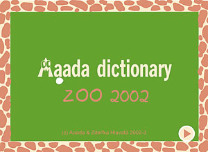 zoo dictionary